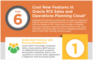 Oracle SOP Cloud Infographic